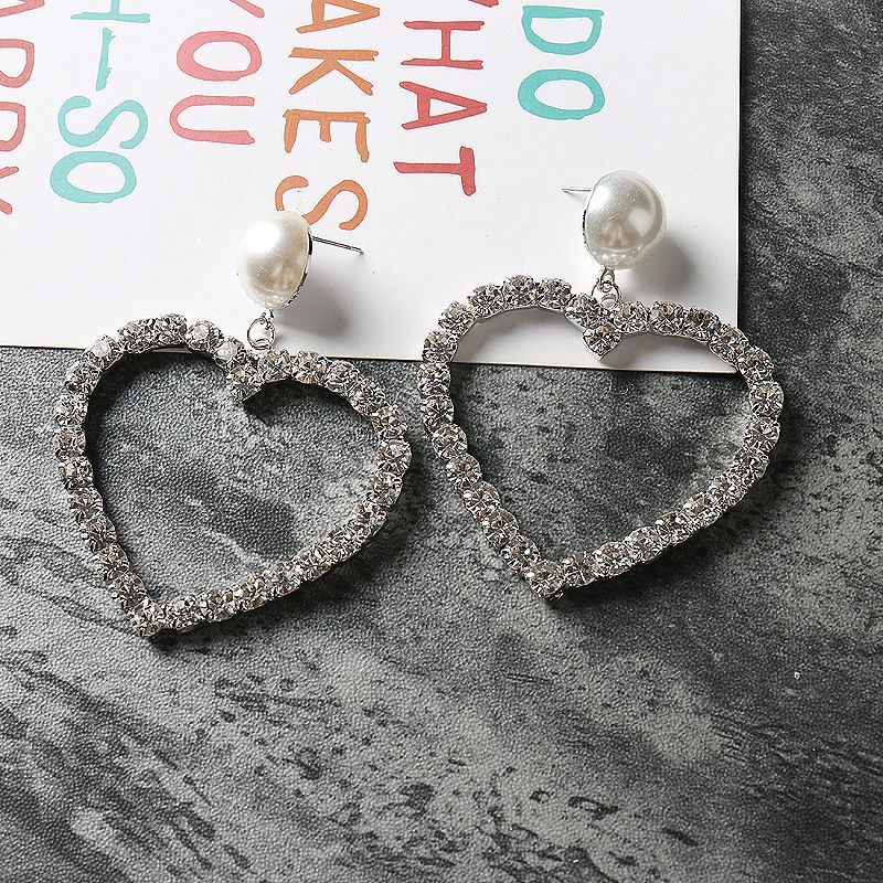 Imitated crystal&CZ Fashion  earring  (Photo Color)  Fashion Jewelry NHYQ0652-Photo-Color