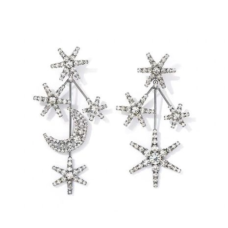 Imitated crystal&CZ Fashion Geometric earring  (Main color)  Fashion Jewelry NHYQ0685-Main-color's discount tags