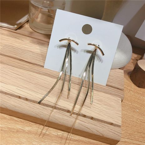 Alloy Korea Tassel earring  (Alloy)  Fashion Jewelry NHYQ0686-Alloy's discount tags