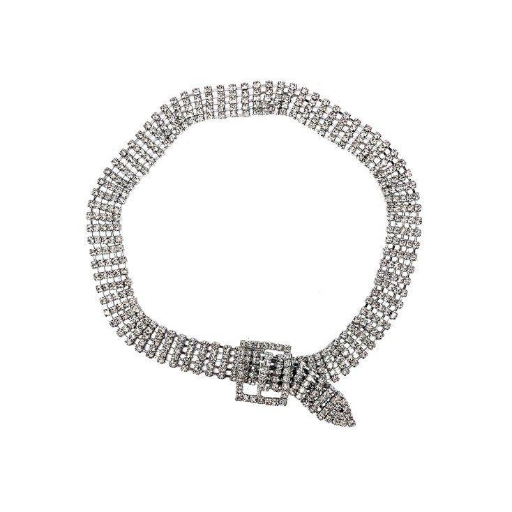 Imitated crystalCZ Fashion Geometric necklace  Main color  Fashion Jewelry NHYQ0698Maincolor