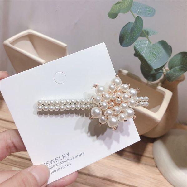 Beads Korea Flowers Hair accessories  (Flower beads)  Fashion Jewelry NHYQ0786-Flower-beads