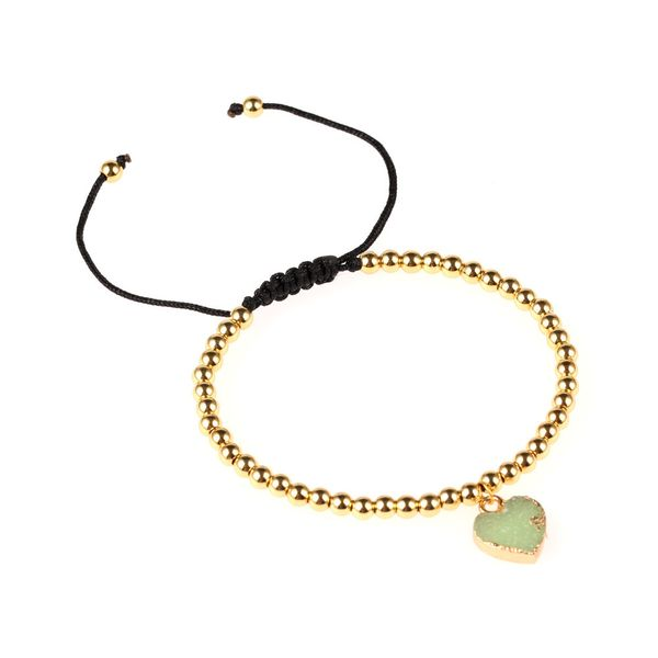 Titanium&Stainless Steel Fashion Sweetheart bracelet  (green)  Fine Jewelry NHPY0625-green