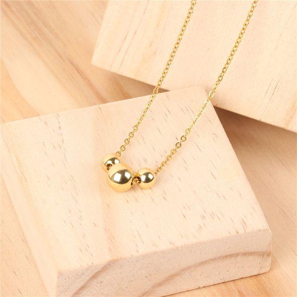 Titanium&Stainless Steel Fashion Geometric necklace  (NE0068-A)  Fine Jewelry NHPY0627-NE0068-A