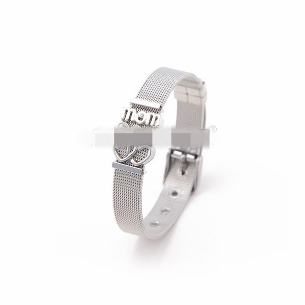 Titanium&Stainless Steel Simple Geometric bracelet  (Steel bracelet)  Fine Jewelry NHSX0445-Steel-bracelet