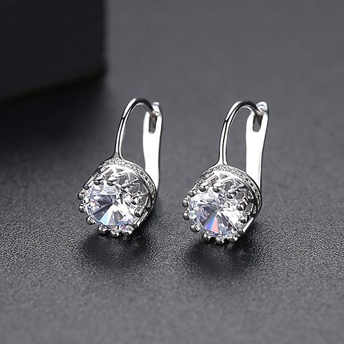Alloy Korea Geometric earring  PlatinumT02A18  Fashion Jewelry NHTM0672PlatinumT02A18