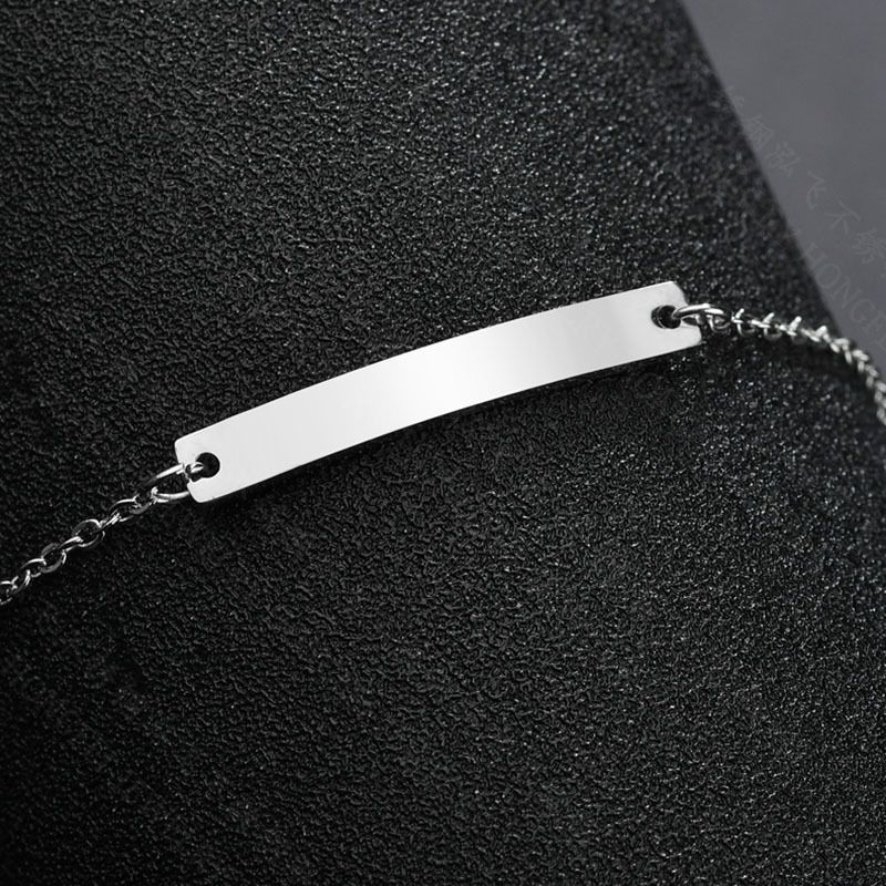 Titanium&Stainless Steel Fashion Geometric bracelet  (Steel color)  Fine Jewelry NHHF1347-Steel-color