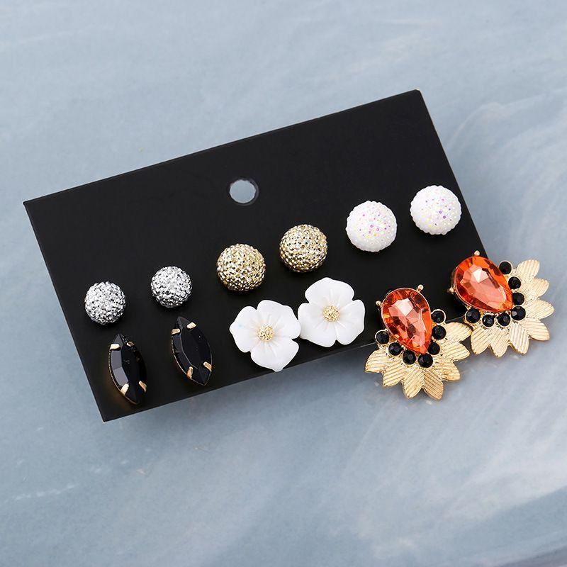 Alloy Korea Geometric earring  E0329  Fashion Jewelry NHSD0562E0329