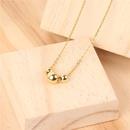 TitaniumStainless Steel Fashion Geometric necklace  NE0068A  Fine Jewelry NHPY0627NE0068A