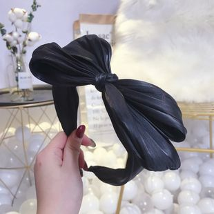 Cloth Korea Bows Hair accessories  (black)  Fashion Jewelry NHSM0430-black's discount tags