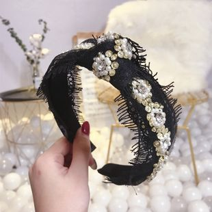 Beads Korea Bows Hair accessories  (Flower)  Fashion Jewelry NHSM0439-Flower's discount tags