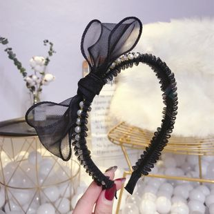 Beads Korea Bows Hair accessories  (Mesh knot)  Fashion Jewelry NHSM0446-Mesh-knot's discount tags