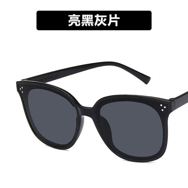 Plastic Vintage  glasses  (Bright black ash)  Fashion Jewelry NHKD0912-Bright-black-ash