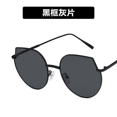 Alloy Fashion  glasses  (Black frame gray piece)  Fashion Jewelry NHKD0916-Black-frame-gray-piece's discount tags
