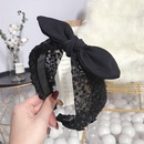 Cloth Korea Bows Hair accessories  black  Fashion Jewelry NHSM0441black