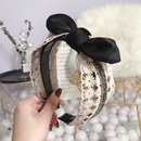 Cloth Korea Bows Hair accessories  black  Fashion Jewelry NHSM0450black