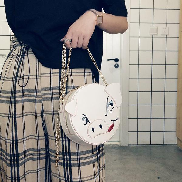 PU Korea  Shoulder Bags  (white)   NHLD1986-white