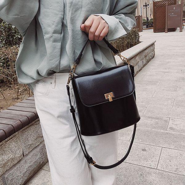 PU Korea  Shoulder Bags  (black)   NHLD2176-black