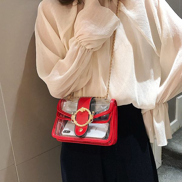 Polyester Fashion  Shoulder Bags  (red)   NHLD2182-red