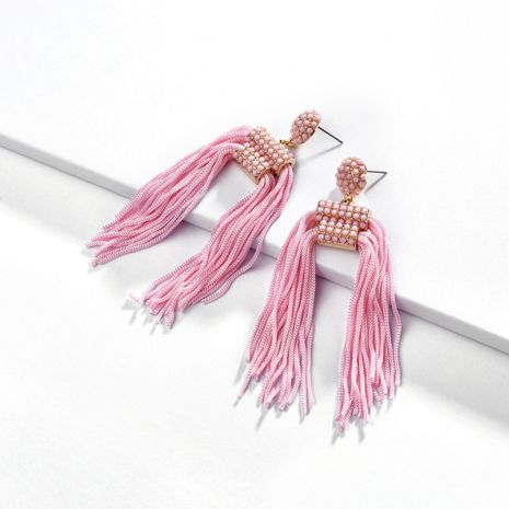 Alloy Fashion Tassel earring  (A0543PK)  Fashion Jewelry NHLU0645-A0543PK's discount tags