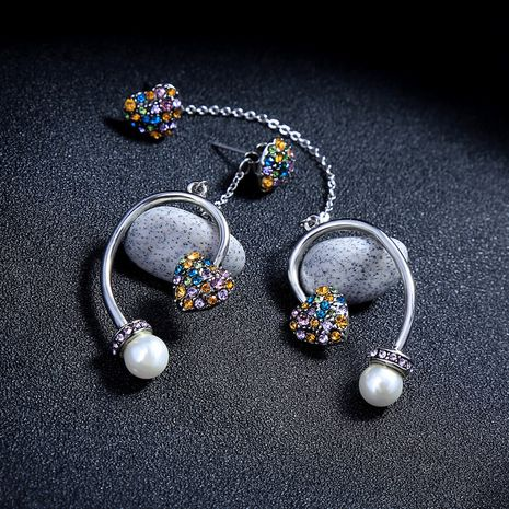 Alloy Fashion Sweetheart earring  (Photo Color)  Fashion Jewelry NHQD6348-Photo-Color's discount tags