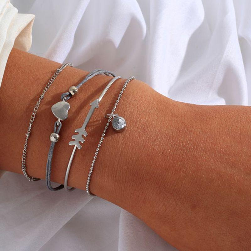 Alloy Fashion Geometric bracelet  (Alloy)  Fashion Jewelry NHNZ1315-Alloy