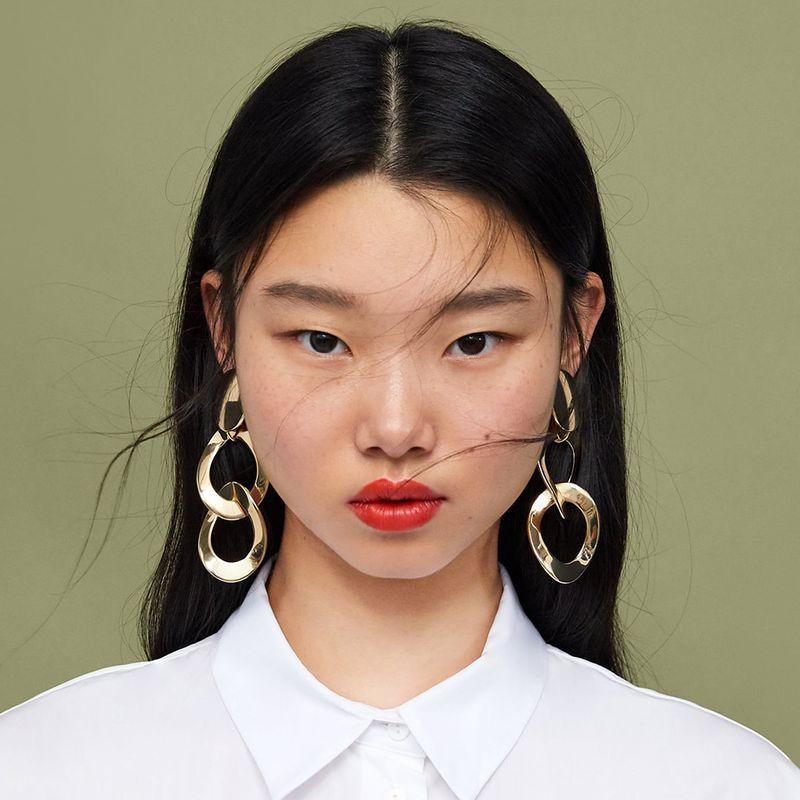 Alloy Fashion Geometric earring  (Alloy)  Fashion Jewelry NHJE2678-Alloy