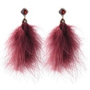 Alloy Fashion Tassel earring  White1  Fashion Jewelry NHQD6342White1