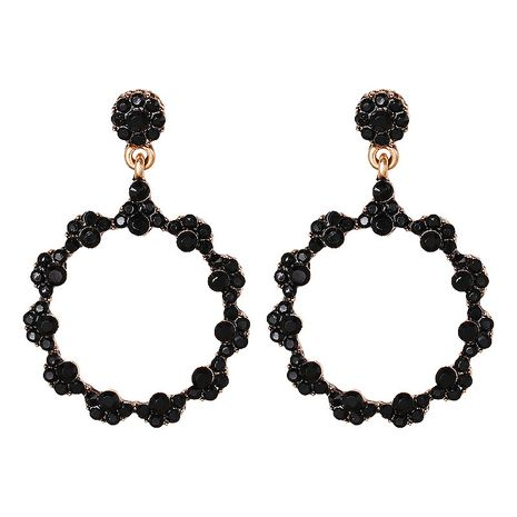 Alloy Fashion Geometric earring  (black)  Fashion Jewelry NHJJ5622-black's discount tags
