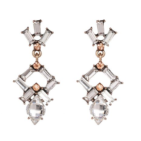 Alloy Fashion Geometric earring  (white)  Fashion Jewelry NHJJ5624-white's discount tags