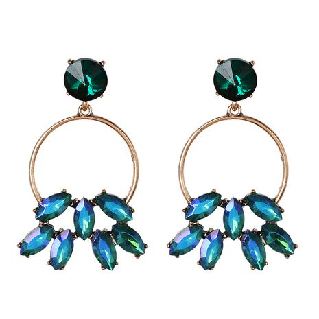 Alloy Fashion  earring  (green)  Fashion Jewelry NHJJ5628-green's discount tags