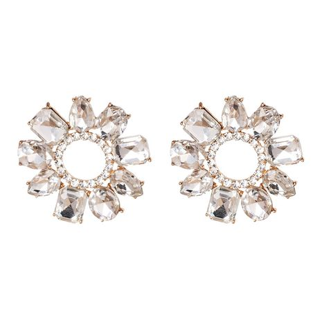 Alloy Fashion Geometric earring  (white)  Fashion Jewelry NHJJ5633-white's discount tags
