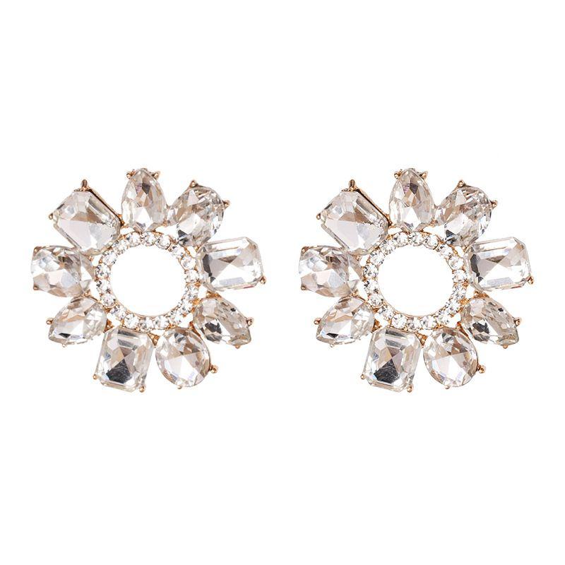 Alloy Fashion Geometric earring  (white)  Fashion Jewelry NHJJ5633-white