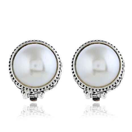 Alloy Korea Geometric earring  (White ancient alloy)  Fashion Jewelry NHKQ2408-White-ancient-alloy's discount tags