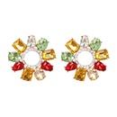 Alloy Fashion Geometric earring  white  Fashion Jewelry NHJJ5633white