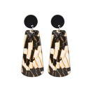 Alloy Bohemia Geometric earring  black  Fashion Jewelry NHBQ1947black