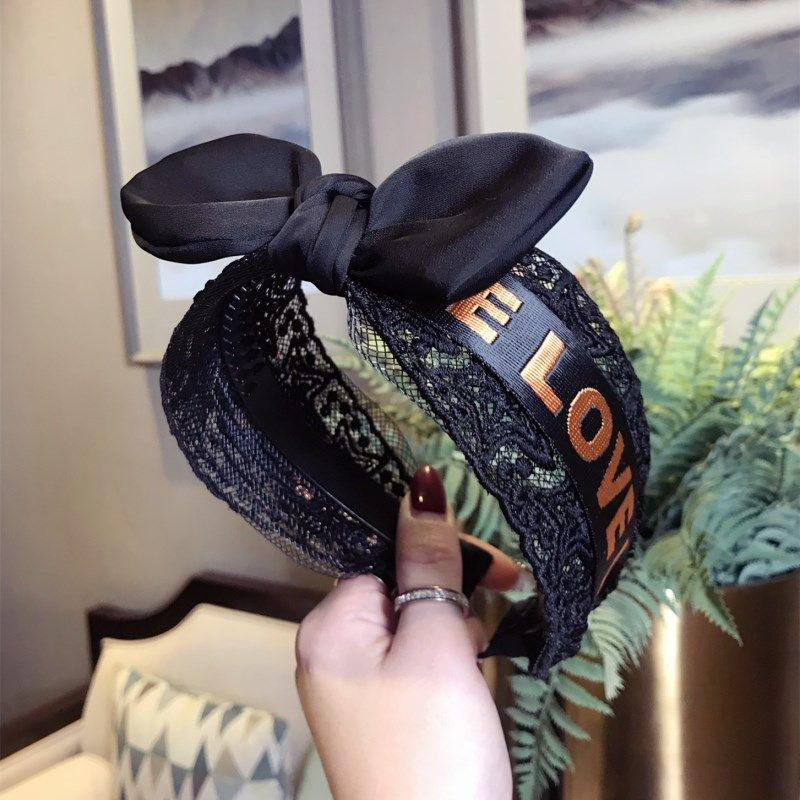 Cloth Korea Bows Hair accessories  black  Fashion Jewelry NHSM0382black