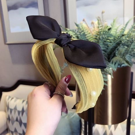 Cloth Korea Bows Hair accessories  (yellow)  Fashion Jewelry NHSM0392-yellow's discount tags