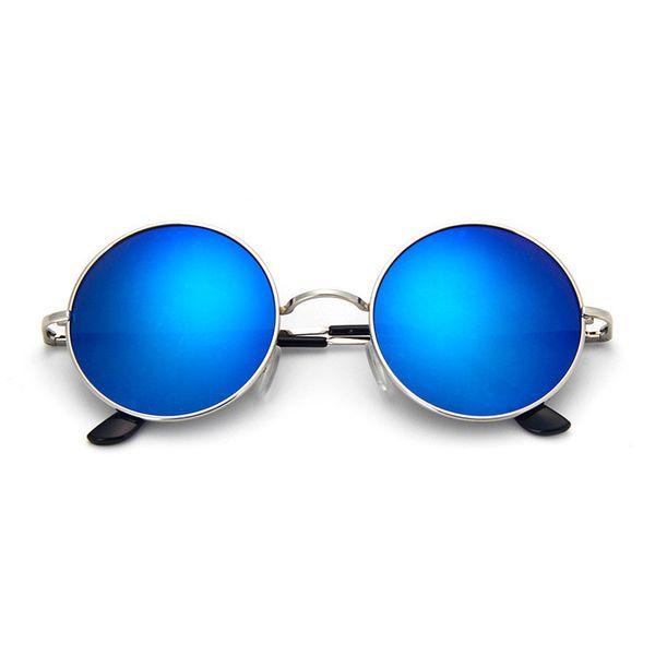 Alloy Vintage  glasses  (Alloy frame blue mercury)  Fashion Accessories NHKD0756-Alloy-frame-blue-mercury