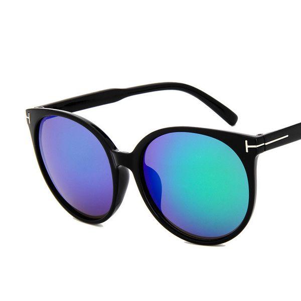 Plastic Vintage  glasses  (Bright black)  Fashion Accessories NHKD0811-Bright-black