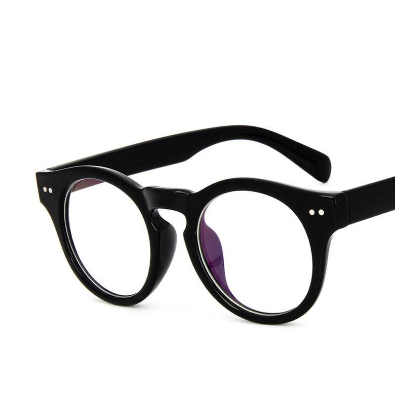 Alloy Vintage  glasses  Transparent white  Fashion Accessories NHKD0847Transparentwhite