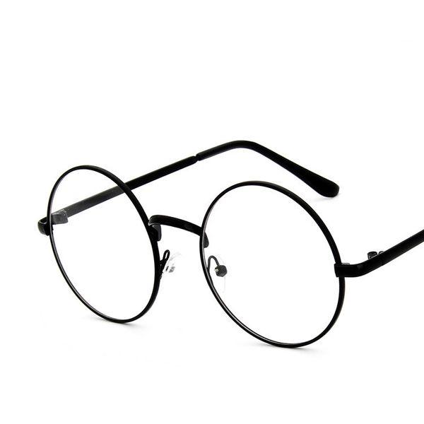 Alloy Vintage  glasses  (Black)  Fashion Accessories NHKD0871-Black