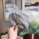 Cloth Simple Bows Hair accessories  black  Fashion Jewelry NHSM0409black