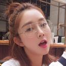 Alloy Vintage  glasses  Black  Fashion Accessories NHKD0747Black