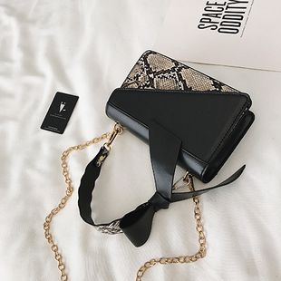 Polyester Korea  Shoulder Bags  (black)  Fashion Bags NHTC3326-black's discount tags