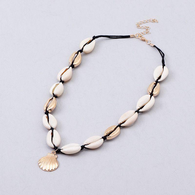 Alloy Fashion Geometric necklace  black  Fashion Jewelry NHNZ1380black