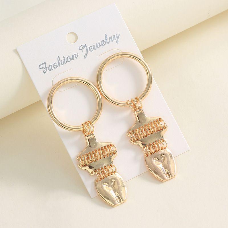 Alloy Fashion Geometric earring  (Alloy)  Fashion Jewelry NHNZ1381-Alloy