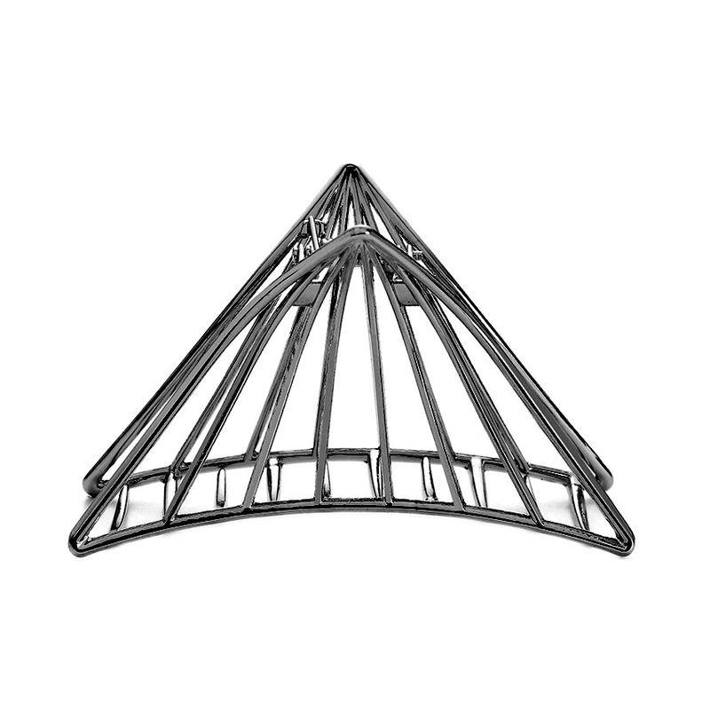 Alloy Simple Geometric Hair accessories  black  Fashion Jewelry NHHN0465black