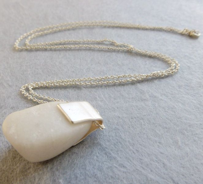 Alloy Bohemia  necklace  (White stone)  Fashion Jewelry NHOM1698-White-stone