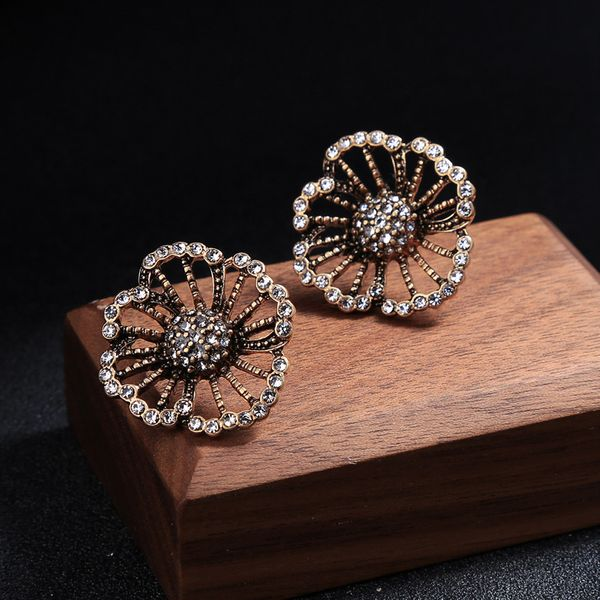Alloy Fashion Flowers earring  (Photo Color)  Fashion Jewelry NHQD6451-Photo-Color