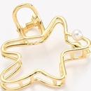Alloy Simple Geometric Hair accessories  black  Fashion Jewelry NHHN0475black